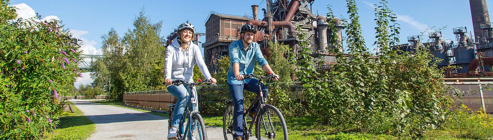 Route der Industriekultur per Rad, © Jochen Tack